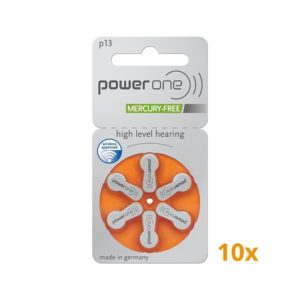 Powerone batterijen oranje 10