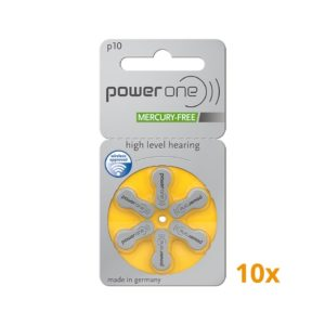 Powerone batterijen geel 10