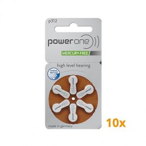 PowerOne p312 batterijen