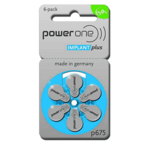 PowerOne blauw 675 implant plus 10 pakjes (sixpack)