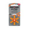 Rayovac Extra Advanced 13 hoorbatterijen (Oranje) 1 pakje