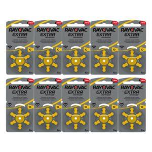Rayovac 10 geel 10pack