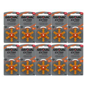 Rayovac 13 oranje 10pack